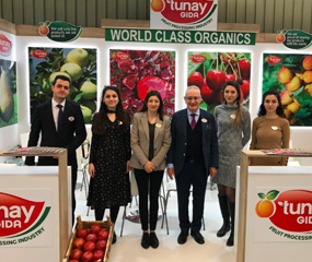 "On 12-15 February 2020, President, General Manager and Our Export Team are participated in the biggest organic food fair in the world ""BIOFACH"", held in Nuremberg, Germany, and had the opportunity to meet with our customers."