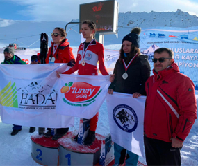 Our export team staff Yeliz ESEN was first in the women category at Mountain Erciyes Ski Championships which is organized by Turkey Mountaineering Federation for auditions for Mountain Ski International Championships.