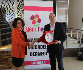 Tunay Gıda New Life Sponsorship Of Association Struggling With Cancer
